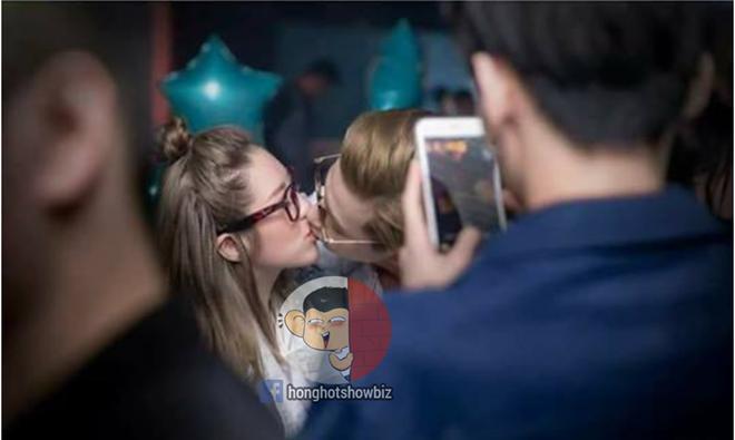 Lộ ảnh hôn cô gái lạ mặt khi vẫn tham gia show Vì yêu mà đến, Phí Ngọc Hưng khẳng định cả 2 chỉ là bạn-1