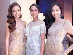Hoa hậu H'Hen Niê đọ sắc cùng Hoàng Thùy và Mâu Thủy trên thảm đỏ 'Ngôi sao xanh'