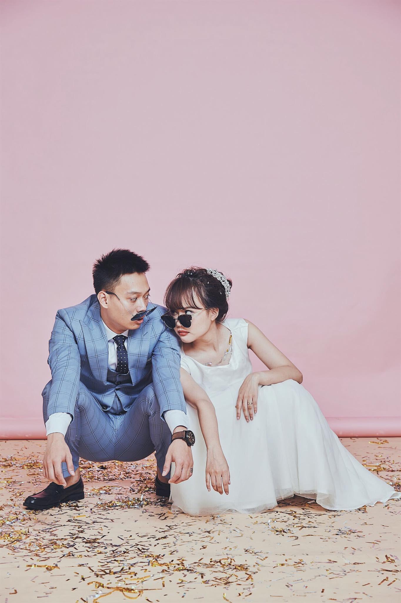 Lời thề phu thê siêu lầy lội của thánh chế Nhật Anh Trắng và vợ trong ngày cưới-3