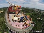 Khu chợ ngay sát đường tàu nguy hiểm nhất thế giới ở Thái Lan-1