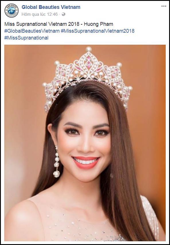 Rộ thông tin hoa hậu Phạm Hương đại diện Việt Nam thi Miss Supranational 2018-2