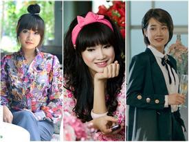 Hình ảnh của Nhã Phương thay đổi chóng mặt qua loạt MV Vpop