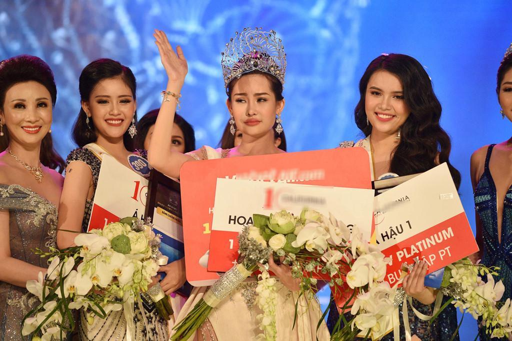 Hai tháng đội vương miện đầy sóng gió của Hoa hậu Đại Dương Ngân Anh-1