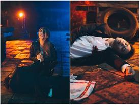 Trịnh Thăng Bình gây ấn tượng mạnh khi làm MV bị người yêu bạc tình bắn chết