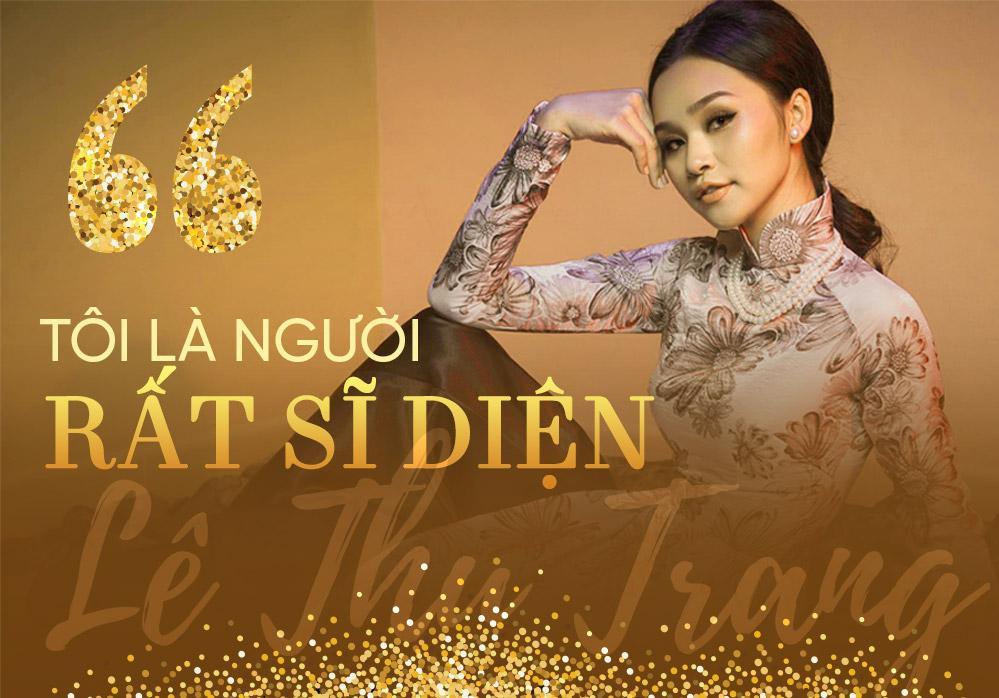 Lê Thu Trang - cô gái đá váy Mâu Thủy: Tôi sẽ là đối thủ đáng gờm tại Hoa hậu Hoàn vũ Việt Nam 2019-4