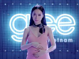 Angela Phương Trinh khệ nệ bụng bầu hát tặng con gái trong 'Glee' tập 21