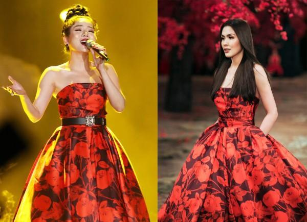 Lệ Quyên - Hà Tăng đẹp bất phân thắng bại khi diện chung một mẫu váy-7