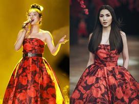 Lệ Quyên - Hà Tăng đẹp bất phân thắng bại khi diện chung một mẫu váy