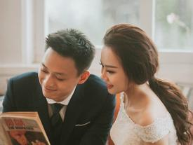 Ảnh cưới không 'lầy lội' như ngày thường của Nhật Anh Trắng và vợ