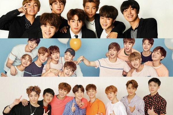 BXH thương hiệu nhóm nhạc nam tháng 1: BTS đánh bại Wanna One chiếm ngôi đầu bảng-1