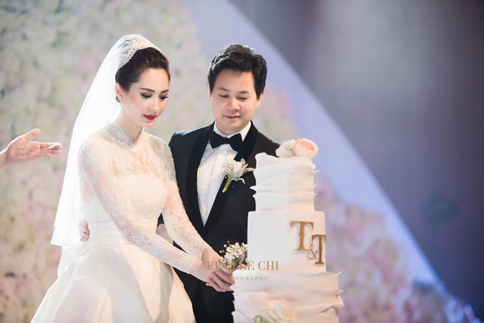 Chồng đại gia hé lộ điều bất ngờ khi Hoa hậu Đặng Thu Thảo mang bầu-1