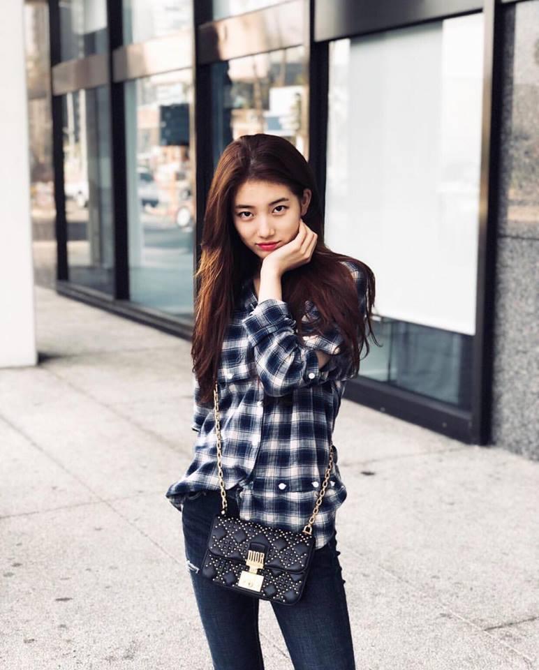 Dát hàng hiệu tinh tế, Suzy - Irene nổi bật nhất street style sao Hàn tuần qua-5