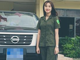 Nữ công an viên bị làm phiền sau bức ảnh xinh đẹp trên mạng