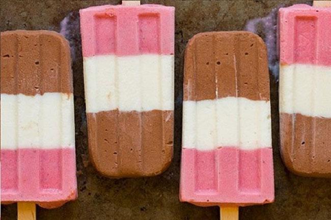 Cách làm kem ba màu đơn giản mà siêu ngon tại nhà-1