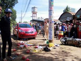 Cô gái 9X lái ôtô lao vào chợ, tông 1 người chết
