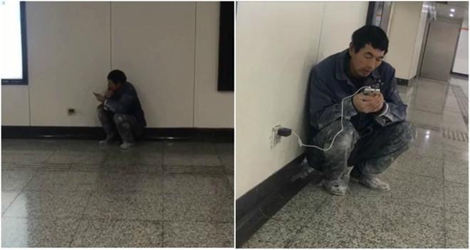 Câu chuyện xúc động về người đàn ông mỗi tối đến ga tàu dùng Wi-Fi-2