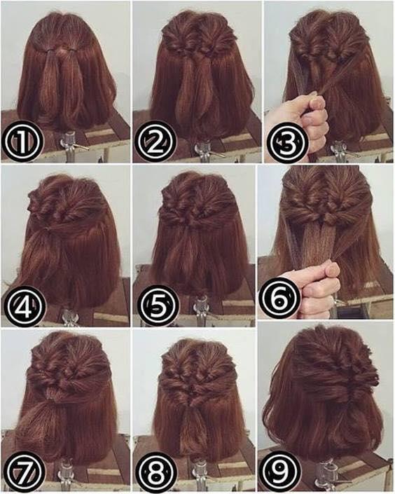 Clip: Tuyệt chiêu tết tóc cực đẹp dành riêng cho nàng tóc ngắn-6