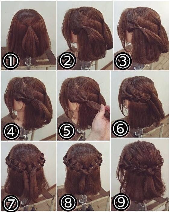 Clip: Tuyệt chiêu tết tóc cực đẹp dành riêng cho nàng tóc ngắn-7