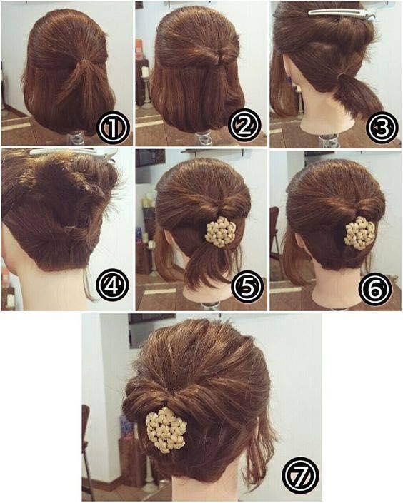 Clip: Tuyệt chiêu tết tóc cực đẹp dành riêng cho nàng tóc ngắn-8