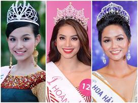'Cân' nhan sắc 3 Hoa hậu Hoàn vũ Việt Nam: Ai sở hữu dung mạo xuất sắc nhất?
