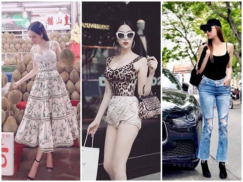 Hồ Ngọc Hà - Huyền Baby 'lên đồ' mát mẻ hết cỡ nổi bật nhất street style tuần qua