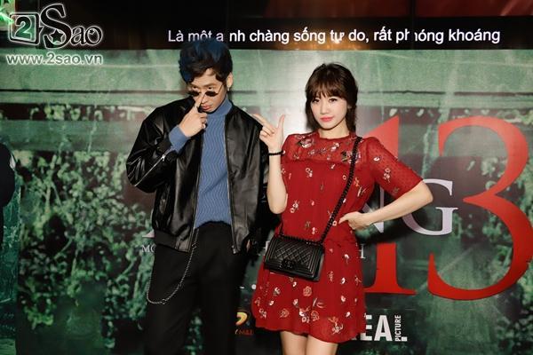 Hari Won đẹp dịu dàng đến chúc mừng tình cũ-1