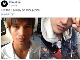 Trang tin Hàn Quốc nhầm Lệ Rơi là chàng trai Thái Lan trước khi phẫu thuật thẩm mỹ