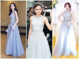 Hết Đặng Thu Thảo, Hari Won... giờ đến Mâu Thủy cũng mê đắm chiếc váy này