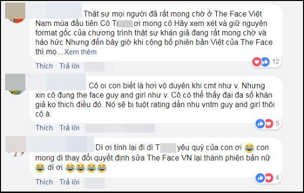 Khán giả phản đối The Face Vietnam 2018 tuyển sinh cả nam lẫn nữ-3