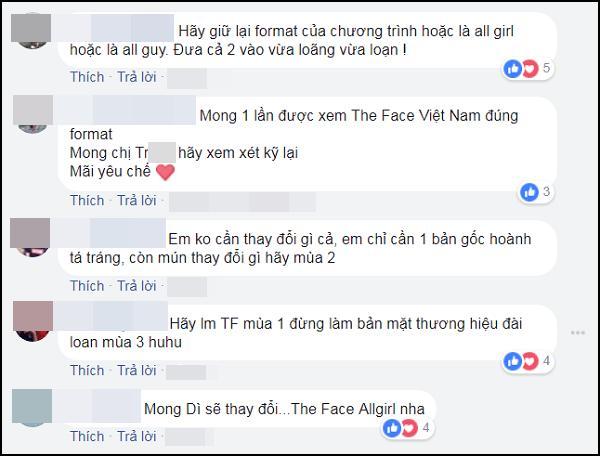 Khán giả phản đối The Face Vietnam 2018 tuyển sinh cả nam lẫn nữ-5