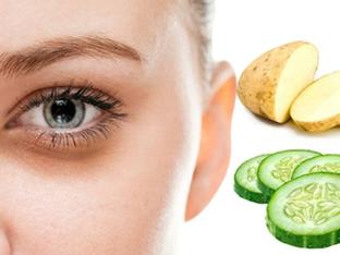 9 cách làm mờ quầng thâm mắt với nguyên liệu từ tủ bếp