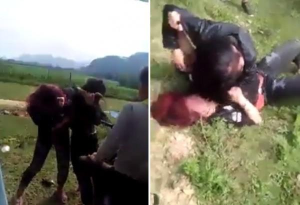 Nữ sinh lao vào đánh nhau bầm dập ở ven đường gây xôn xao dư luận-1