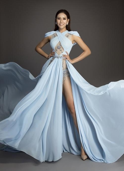 Đi thi hoa hậu nhưng loạt mỹ nhân chỉ toàn mặc lại váy cũ của sao Việt-9