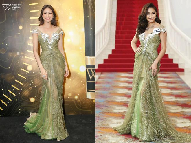Đi thi hoa hậu nhưng loạt mỹ nhân chỉ toàn mặc lại váy cũ của sao Việt-11
