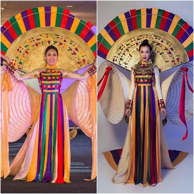 Đi thi hoa hậu nhưng loạt mỹ nhân chỉ toàn mặc lại váy cũ của sao Việt-7