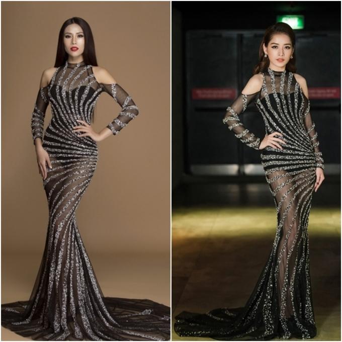 Đi thi hoa hậu nhưng loạt mỹ nhân chỉ toàn mặc lại váy cũ của sao Việt-8