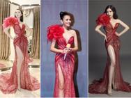 Đi thi hoa hậu nhưng loạt mỹ nhân chỉ toàn mặc lại 'váy cũ' của sao Việt
