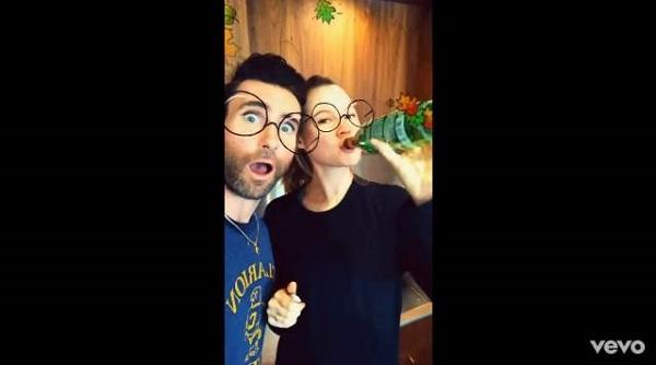 Maroon 5 tiết kiệm tiền bằng cách quay MV bằng Snapchat-1
