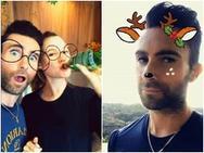 Maroon 5 tiết kiệm tiền bằng cách quay MV bằng Snapchat
