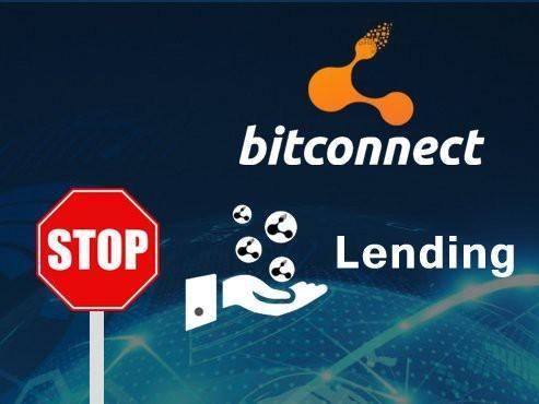 Bitconnect dừng không cho 'lending', giá coin giảm sốc