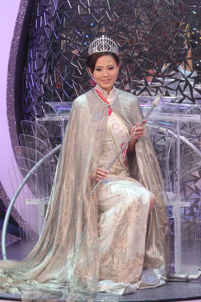 Đóng trùng vai với Lê Tư và Xa Thi Mạn, Hoa hậu Hong Kong bị chê xách dép đàn chị-1