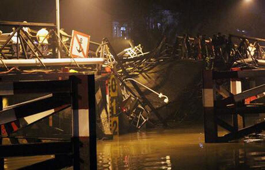 Nhân chứng kể lại phút tháo chạy khi cầu sập ở Sài Gòn-1