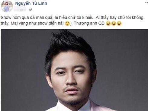 Hot girl - hot boy Việt: Tú Linh nói 'Lễ trao giải Mai Vàng như show diễn hài'