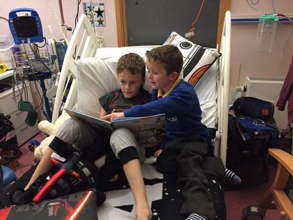 Cậu bé ung thư chiến đấu từng ngày để đón em gái chào đời-4