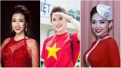 Huyền My cùng dàn sao Việt tưng bừng ăn mừng chiến thắng của U23 Việt Nam