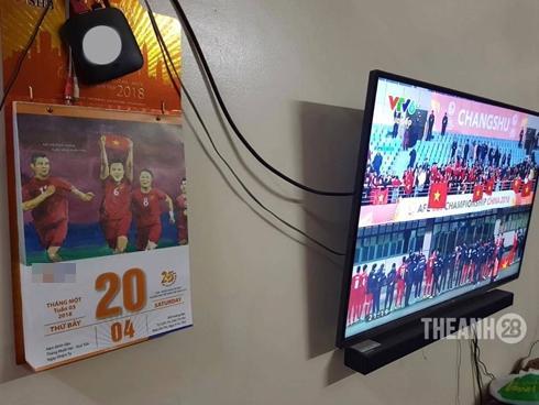 Tờ lịch tiên tri về chiến thắng của U23 VN đang lan nhanh trên mạng
