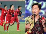 Suốt 1 tuần chiếm spotlight, Trường Giang được giải nguy nhờ chiến thắng của U23 Việt Nam