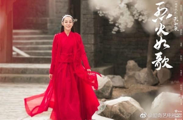 Địch Lệ Nhiệt Ba được nhà đài ưu ái hơn Quan Hiểu Đồng, phim mới phát sóng khung giờ vàng?-6