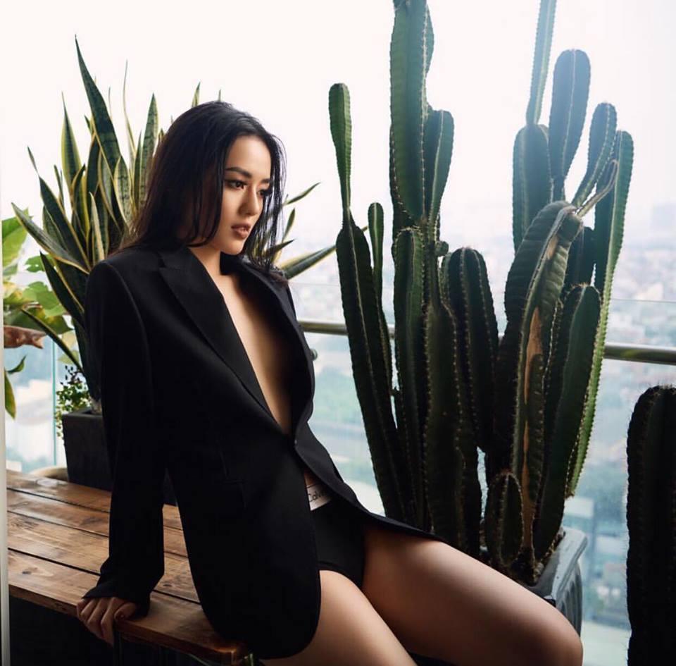 Đồng Ánh Quỳnh - Khánh Linh The Face đứng đầu street style đẹp tuần qua nhờ suit không nội y-3