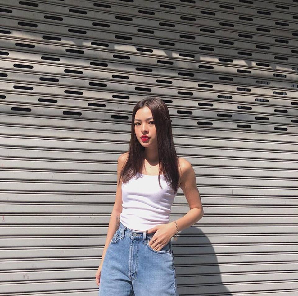 Đồng Ánh Quỳnh - Khánh Linh The Face đứng đầu street style đẹp tuần qua nhờ suit không nội y-7